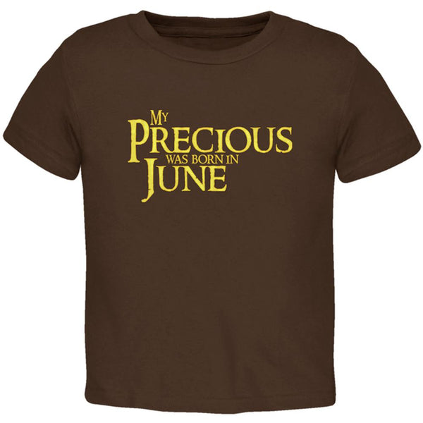 My Precious was Born in June Toddler T Shirt