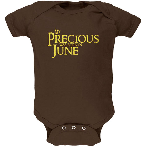 My Precious was Born in June Soft Baby One Piece