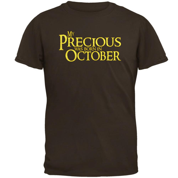 My Precious was Born in October Mens T Shirt
