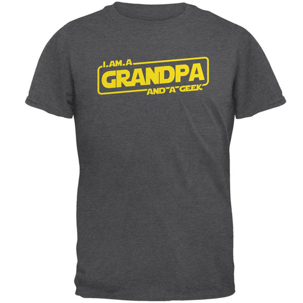 A Grandpa and a Geek Mens T Shirt