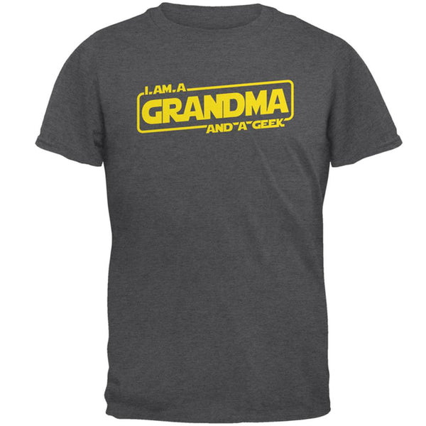 A Grandma and a Geek Mens T Shirt