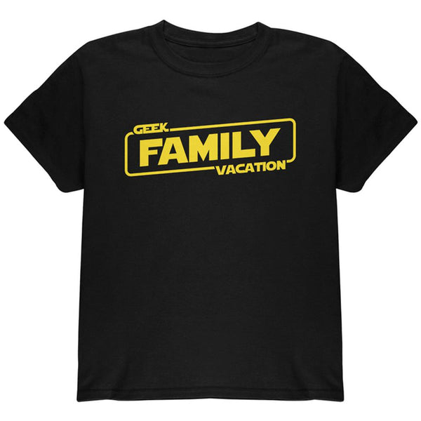 Geek Family Vacation Youth T Shirt