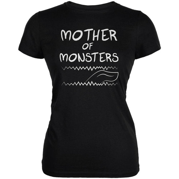 Mother's Day Mother Of Monsters Juniors Soft T Shirt