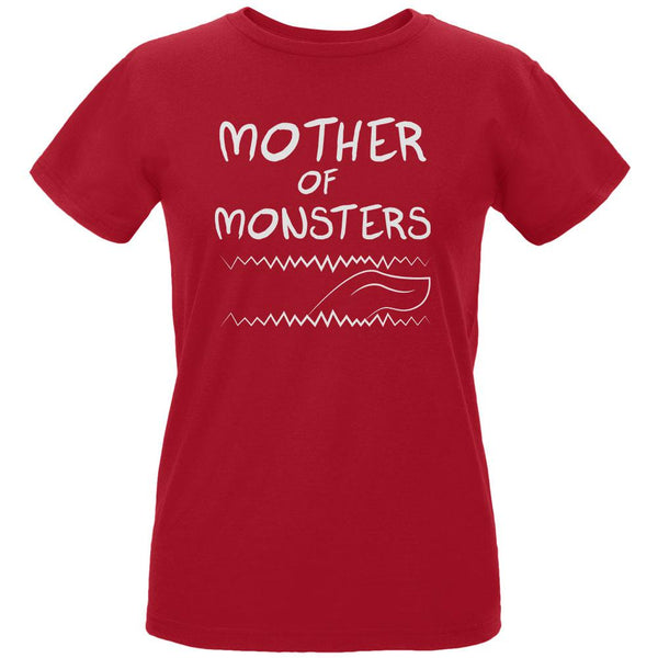 Mother's Day Mother Of Monsters Womens Organic T Shirt