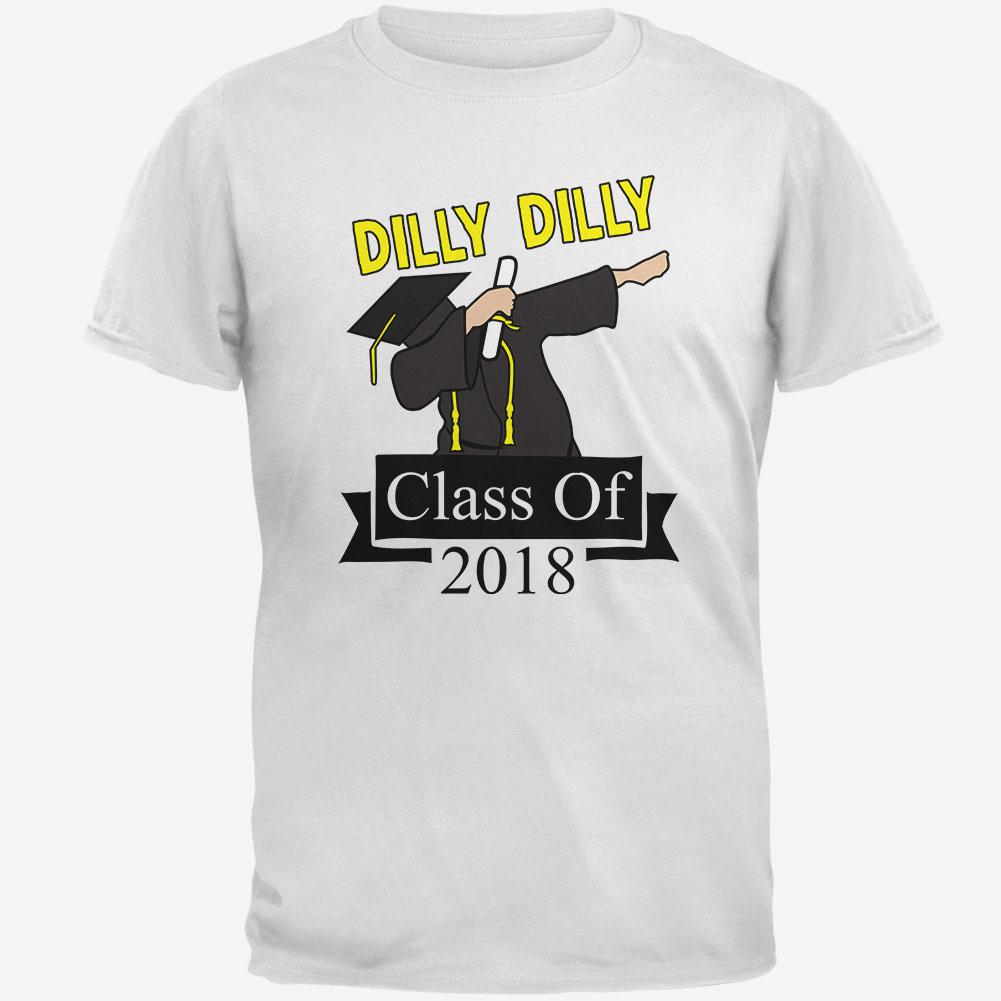 Dilly Dilly Dabbing Graduation Class Of 2018 Mens T Shirt – OldGlory.com ce6276c5d