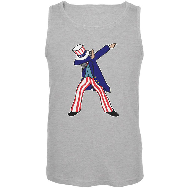 4th Of July Dabbing Uncle Sam Mens Tank Top