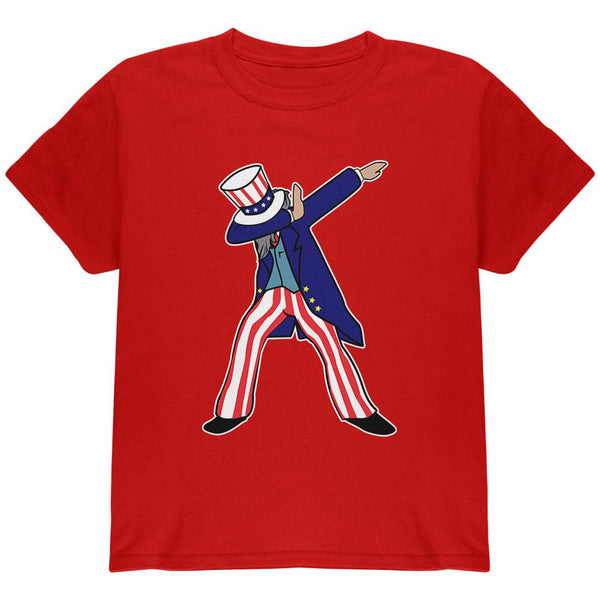 4th Of July Dabbing Uncle Sam Youth T Shirt