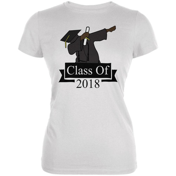Dabbing Graduate Graduation Class Of 2018 Juniors Soft T Shirt