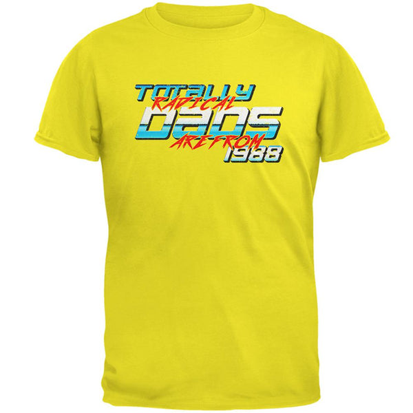 Totally Radical Dads 1988 Birthday Mens T Shirt