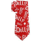 Canada Day Dilly Dilly Maple Leaf All Over Neck Tie