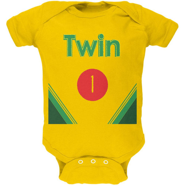 Crayon Twin 1 Soft Baby One Piece