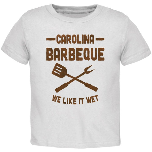 Carolina Barbeque Like It Wet Toddler T Shirt