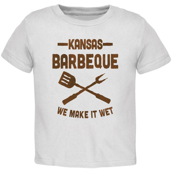 Kansas City Barbeque Make It Wet Toddler T Shirt