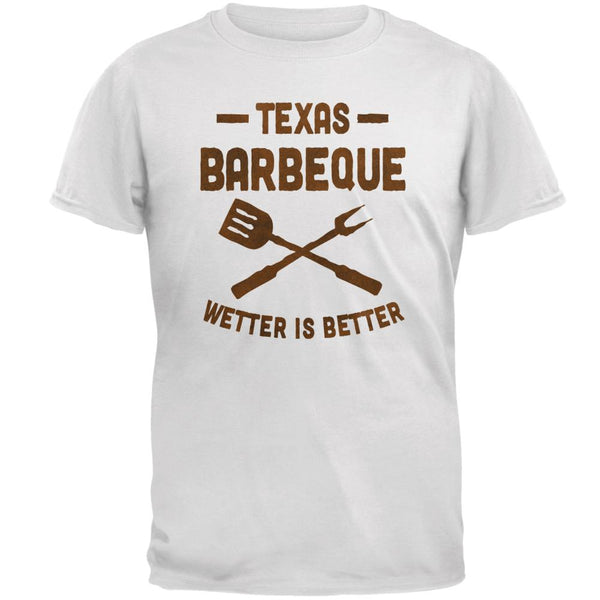 Texas Barbeque Wetter is Better Mens T Shirt