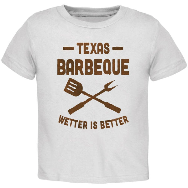 Texas Barbeque Wetter is Better Toddler T Shirt