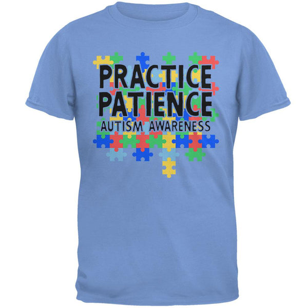 Autism Awareness Practice Patience Mens T Shirt