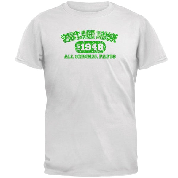 St Patricks Vintage Irish Birthday 1948 Mens T Shirt