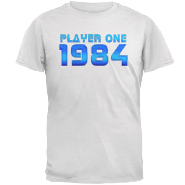 1984 Player One Birthday Mens T Shirt