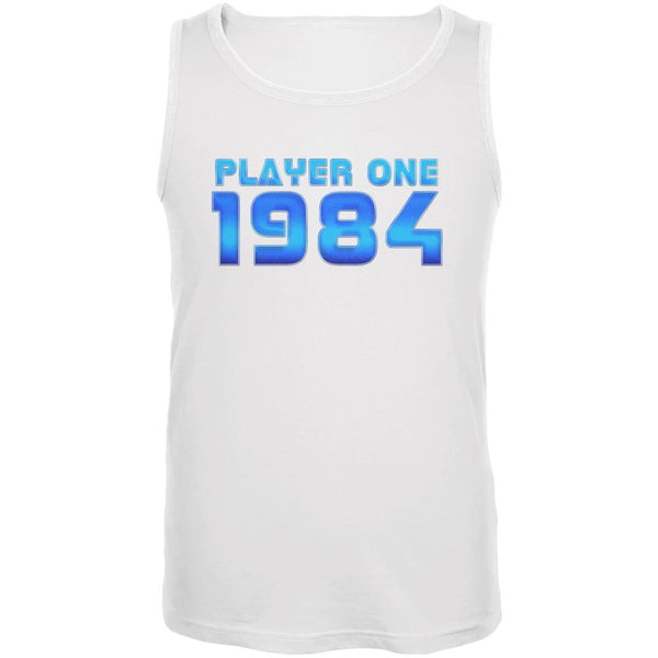 1984 Player One Birthday Mens Tank Top