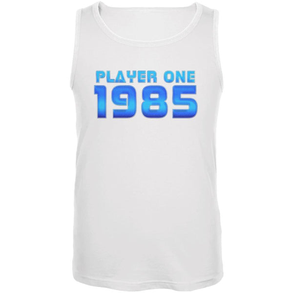1985 Player One Birthday Mens Tank Top
