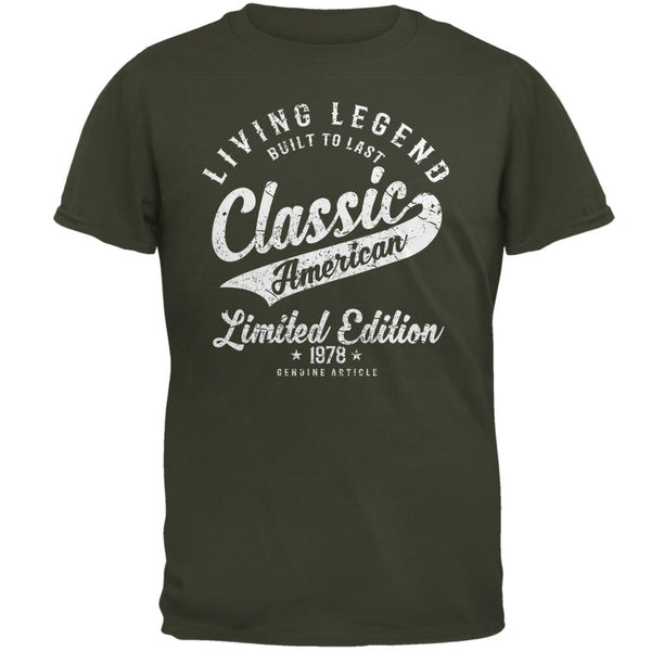 Classic American Legend 1978 Mens T Shirt