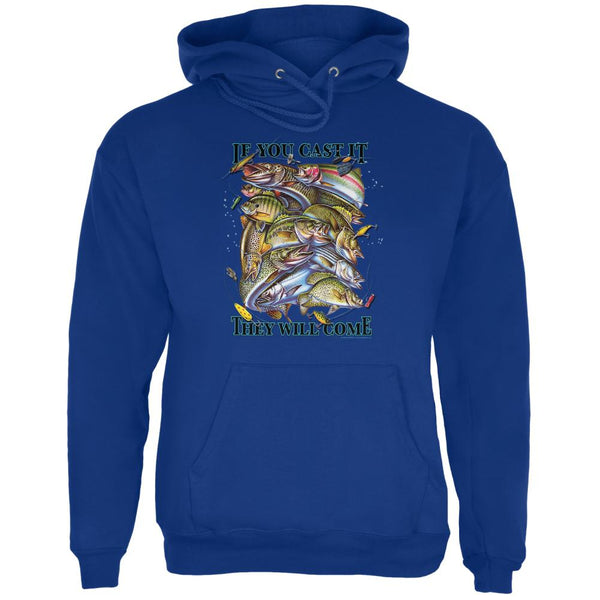 If You Cast It Fishing Mens Hoodie