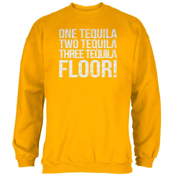 Cinco de Mayo Tequila One Two Three Floor Mens Sweatshirt