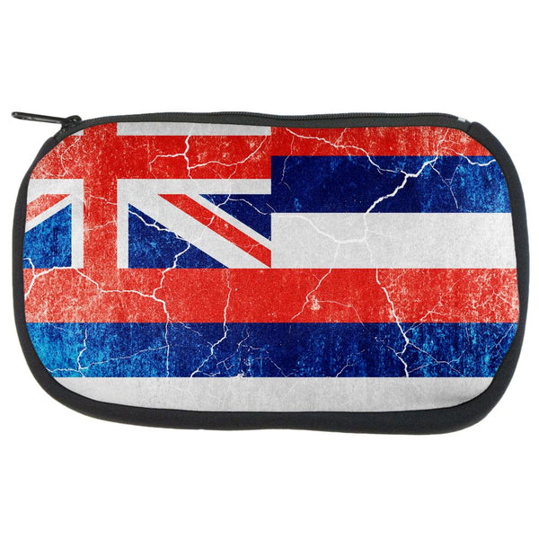 Hawaii Vintage Distressed State Flag Travel Bag