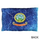 Idaho Vintage Distressed State Flag Pillow Case