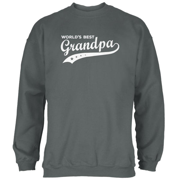 Father's Day World's Best Grandpa Mens Sweatshirt