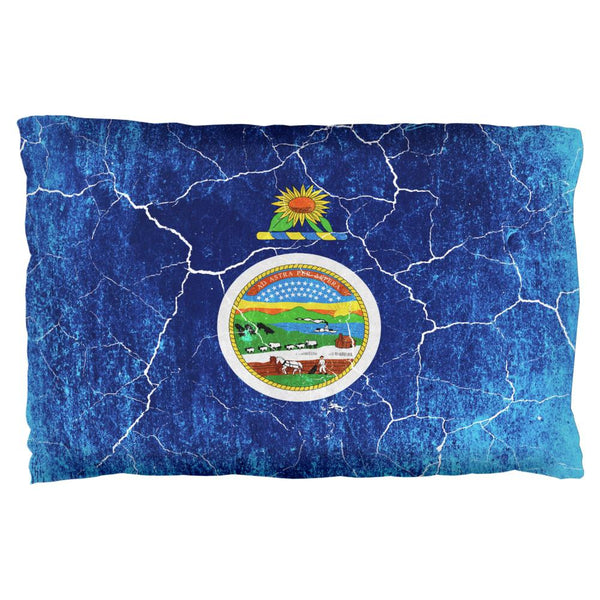 Kansas Vintage Distressed State Flag Pillow Case