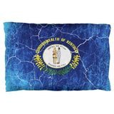 Kentucky Vintage Distressed State Flag Pillow Case