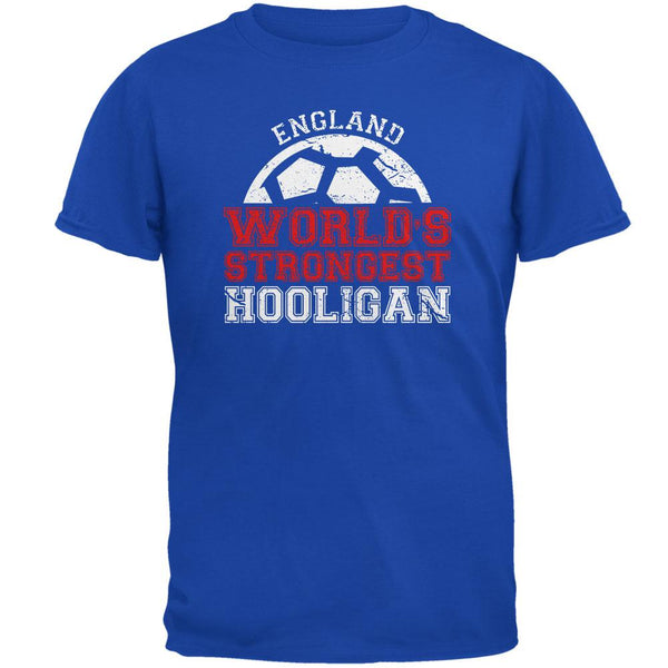 World Cup World's Strongest Hooligan England Mens Soft T Shirt
