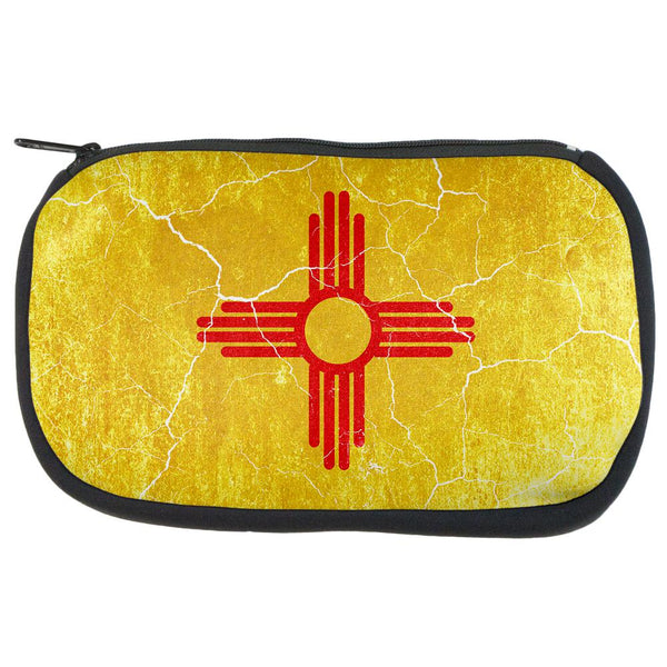 New Mexico Vintage Distressed State Flag Travel Bag