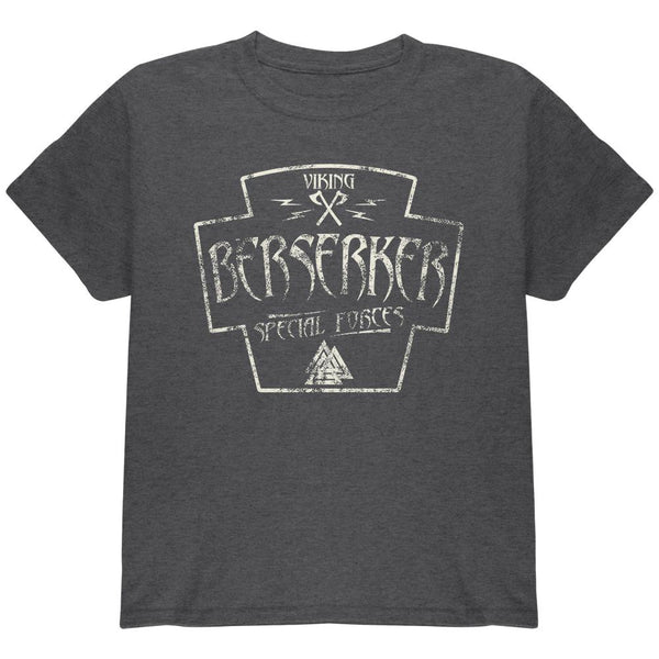 Berserker Viking Special Forces Retro Vintage Youth T Shirt