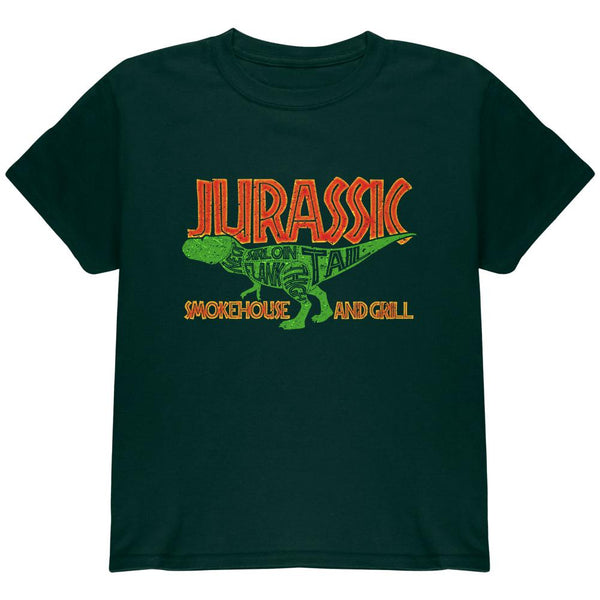 Jurassic Smokehouse and Grill Youth T Shirt