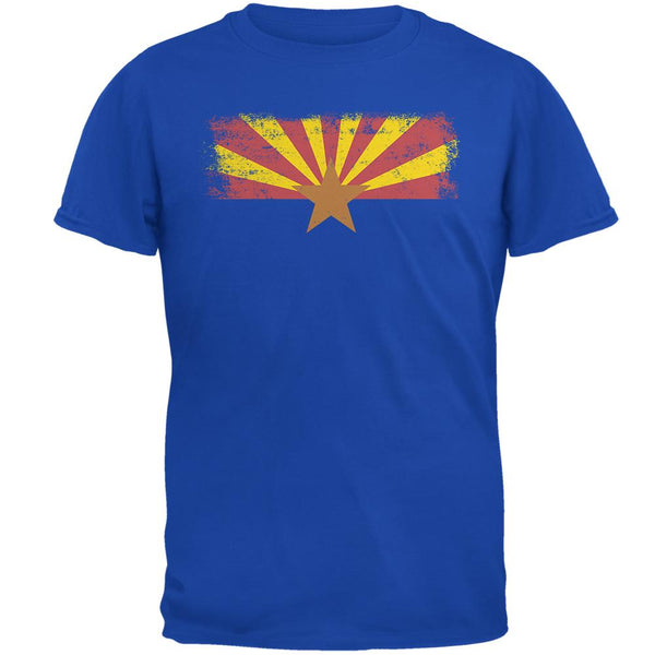 Born and Raised Arizona State Flag Mens Soft T Shirt
