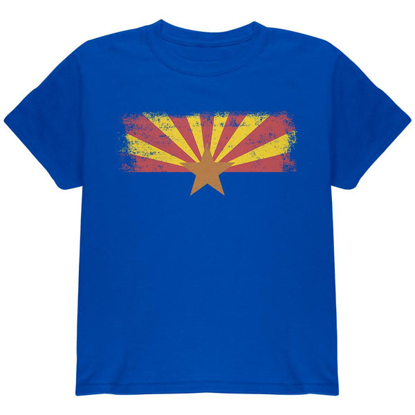 Born and Raised Arizona State Flag Youth T Shirt
