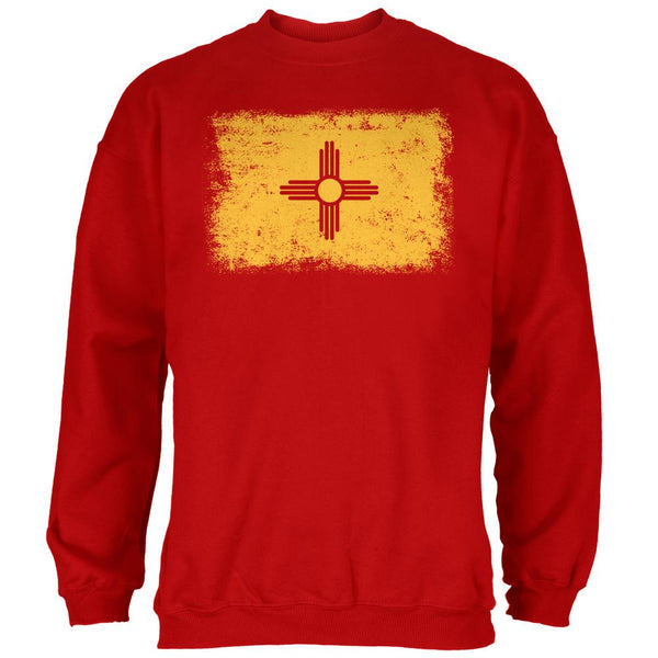 Born and Raised New Mexico State Flag Mens Sweatshirt