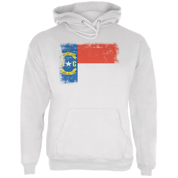 Born and Raised North Carolina State Flag Mens Hoodie