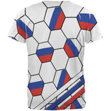 World Cup Russia Soccer Ball All Over Mens T Shirt