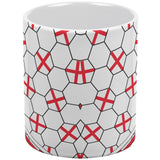 World Cup England Soccer Ball All Over Coffee Mug