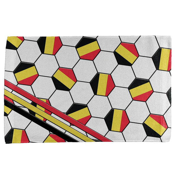 World Cup Belgium Soccer Ball All Over Sport Towel