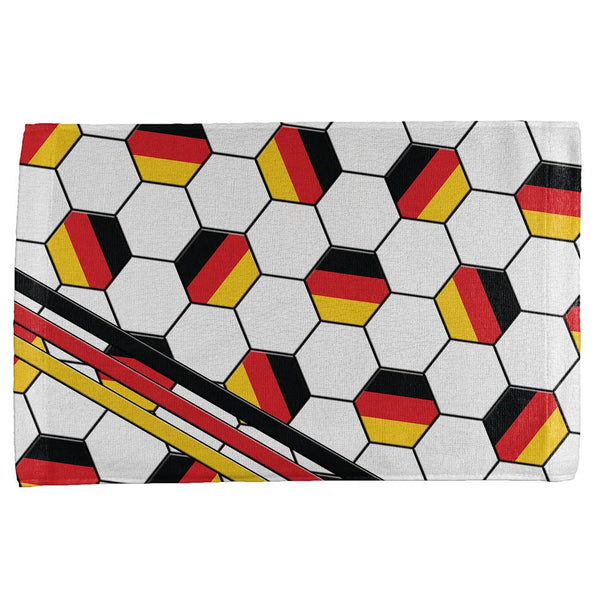 World Cup Germany Soccer Ball All Over Sport Towel