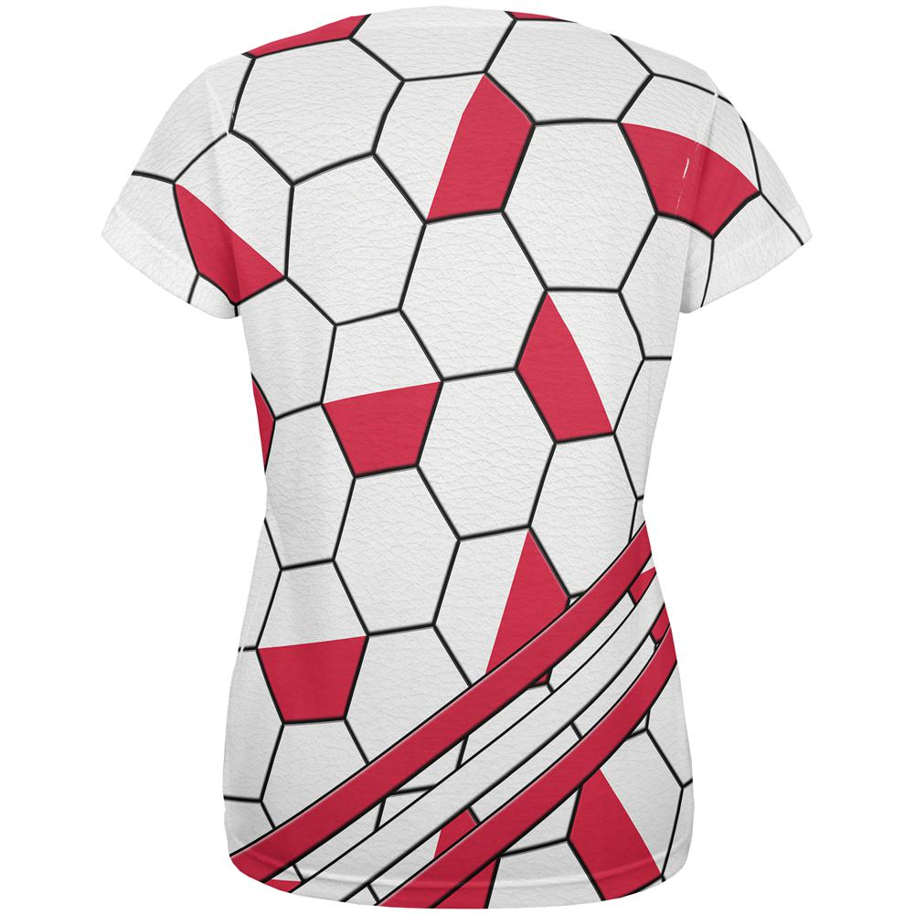 World Cup Poland Soccer Ball All Over Womens T Shirt – OldGlory.com 7403ae5216
