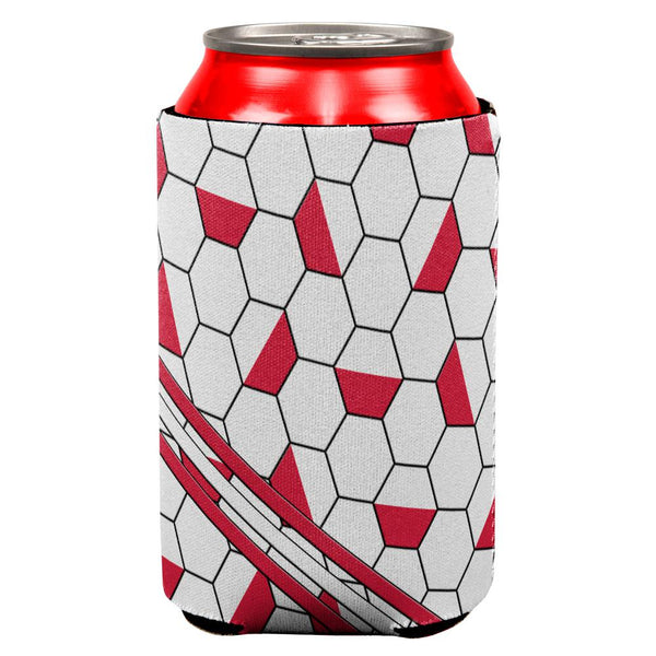 World Cup Poland Soccer Ball All Over Can Cooler
