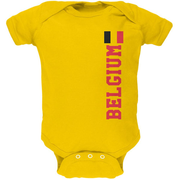 World Cup Belgium Soft Baby One Piece