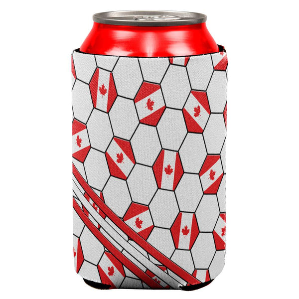 World Cup Canada Soccer Ball All Over Can Cooler