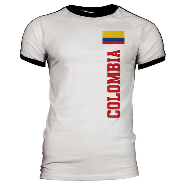 World Cup Columbia Mens Soccer Jersey T-Shirt