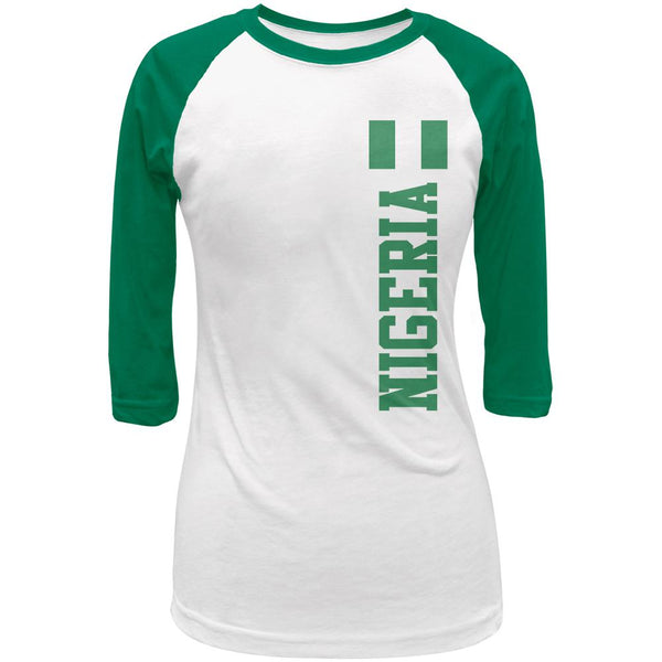 World Cup Nigeria Juniors 3/4 Raglan T Shirt